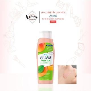 [HCM]Sữa Tắm Tẩy Da Chết St.Ives Fresh Skin Chiết Xuất Trái Mơ Làm Sạch Sâu 400ml thumbnail