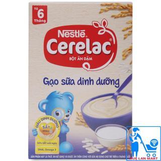 Bột Ăn Dặm Dinh Dưỡng Nestlé Cerelac Gạo Sữa Dinh Dưỡng Hộp 200g (Dành cho trẻ từ 6 tháng tuổi) thumbnail