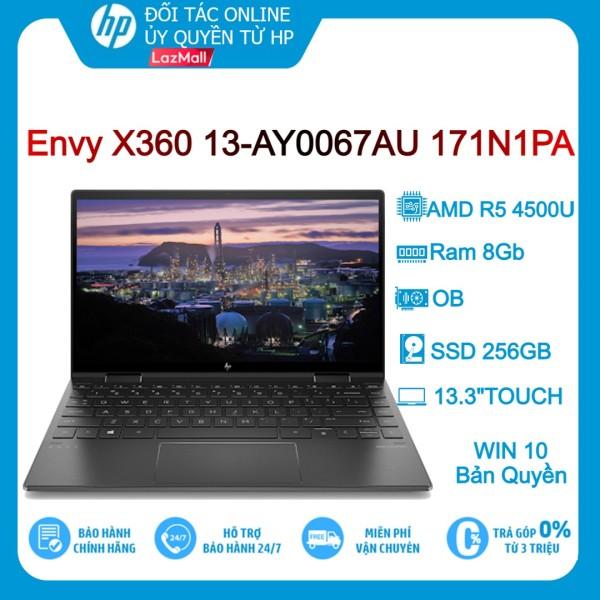 Laptop HP ENVY X360 13-AY0067AU 171N1PA (Xám Đen) R5-4500U/ 8GB/ 256GB/ 13.3″FHD/TOUCH/ OB/ Win10 - Hàng chính hãng new 100%
