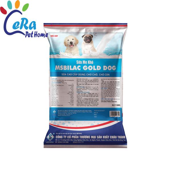 Sữa Mẹ Khô Cho Chó - Msbilac Gold Dog - 100gr