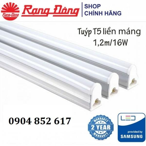 Đèn Led Hắt Trần T5 Rạng Đông 16W 120Cm Chipled Samsung