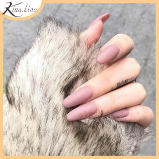 Móng tay giả dáng dài Cao Cấp- Set 24 móng đủ kích thước phù hợp cho tất các tay- KinaKino phukienlamdep thumbnail