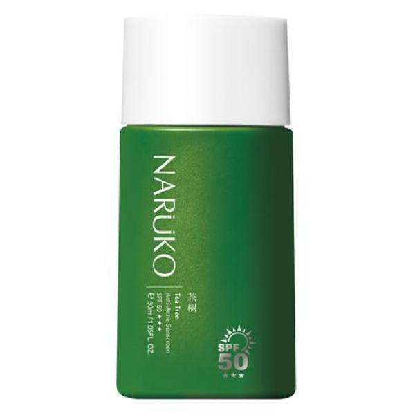 Naruko kem chống nắng trà tràm SPF 50 30 ml – Naruko Tea Tree Anti-Acne Sunscreen SPF50 30 ml nhập khẩu