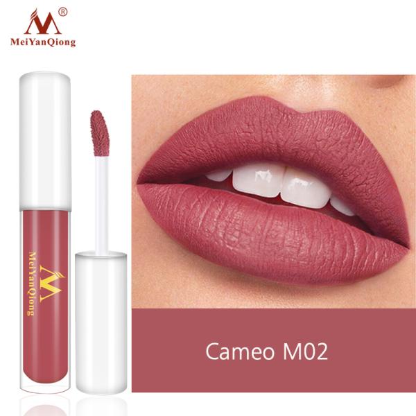 MeiYanQiong Lipgloss Matte Lip Gloss Velvety Lipstick Liquid Matte Waterproof Lip Tint Full & rich Sexy Lip Makeup Cosmetic giá rẻ