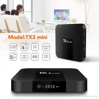 Tivi box Tx3 mini RAM 8GROM 16GB XEM video 4K PHIÊN BẢN TÌM KIẾM GIỌNG NÓI KÈM KHIỂN G10 thumbnail