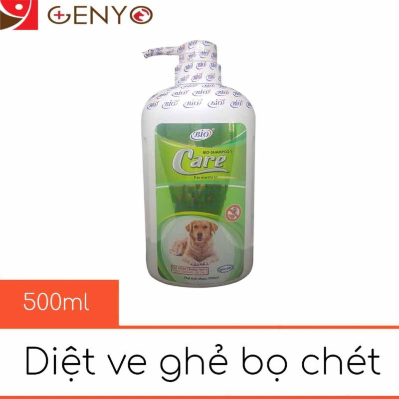Sữa Tắm Ve Rận Bọ Chét Chó Mèo - Bio Care 500ml