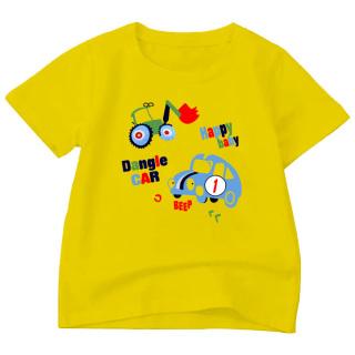 Áo Thun bé trai in hình vải polly cotton dày mịn ABTM107 thumbnail
