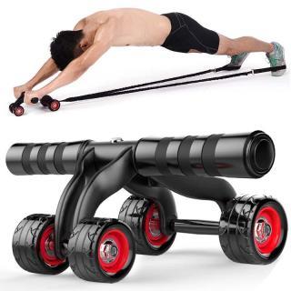 Con lăn tập cơ bụng 4 bánh cao cấp KAMA Ab Roller,dụng cụ tập thể hình,tập GYM,dụng cụ tập thể lực, dụng cụ tập cơ bụng sáu múi,con lan tap co bung thumbnail