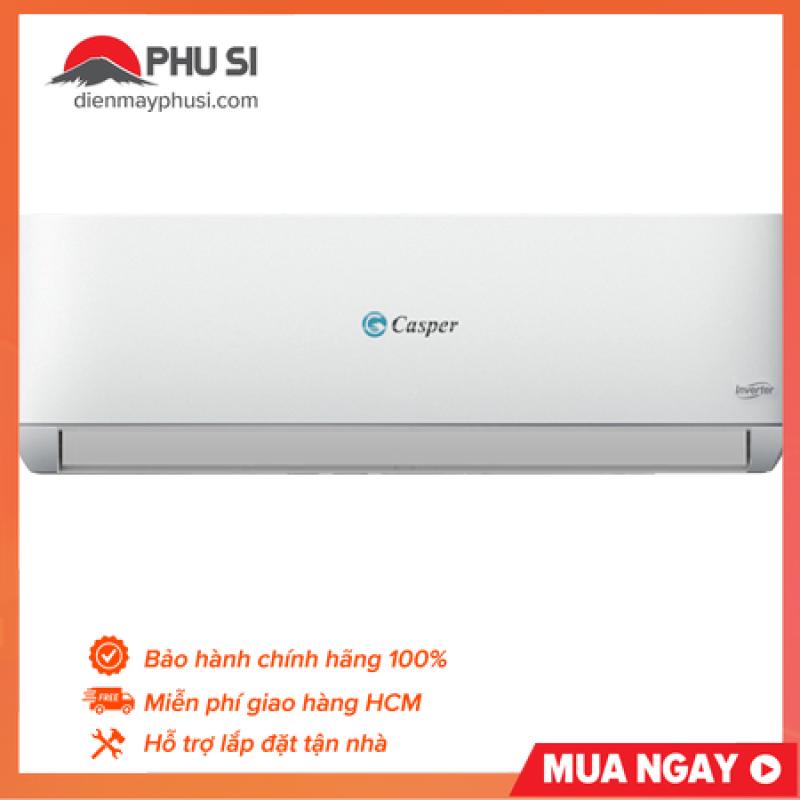 Máy lạnh Casper inverter 1.5 HP GC-12TL22 - Hàng phân phối chính hãng, tiết kiệm điện
