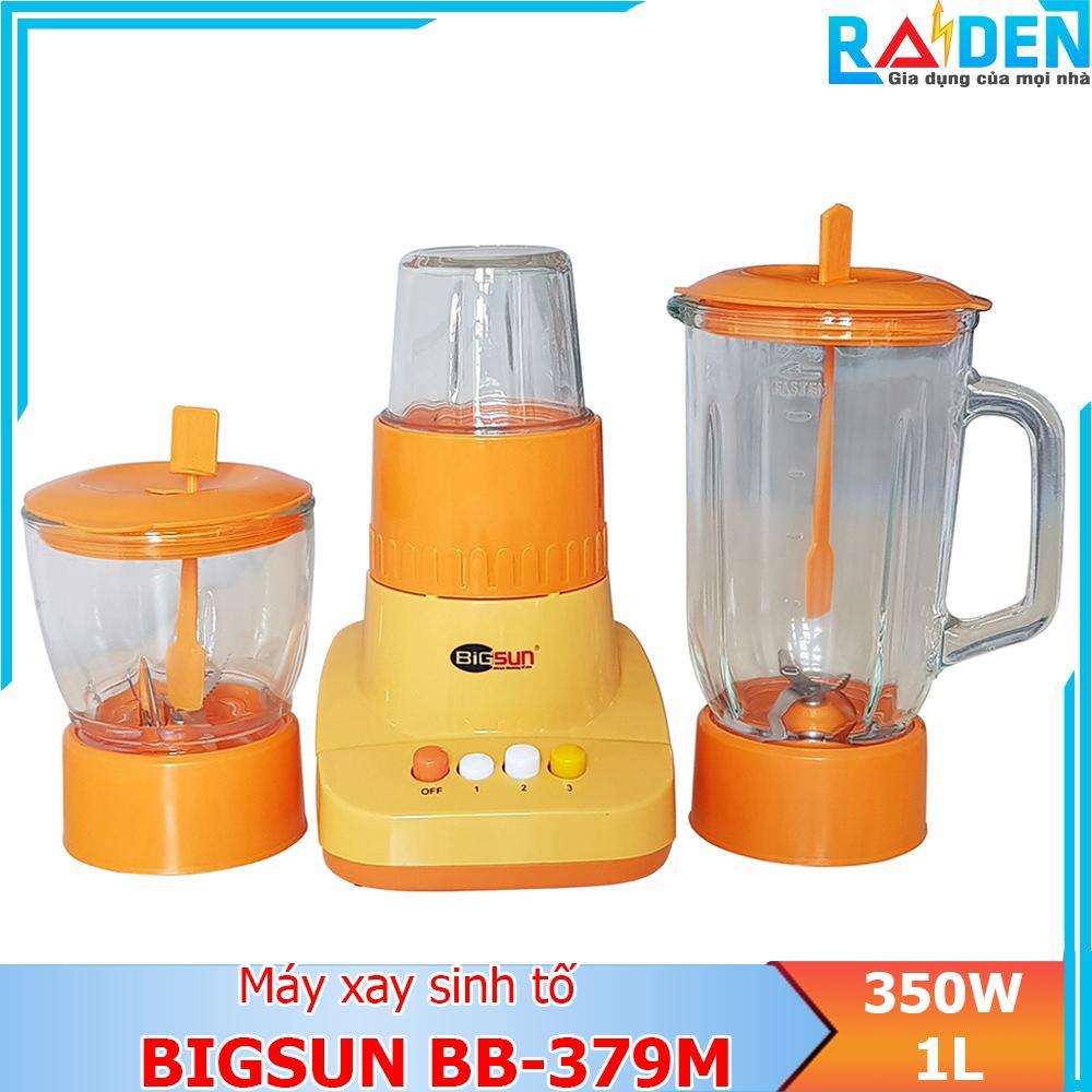 Máy xay sinh tố, xay thực phẩm đa năng 350W Bigsun BB-379M (Màu ngẫu nhiên)