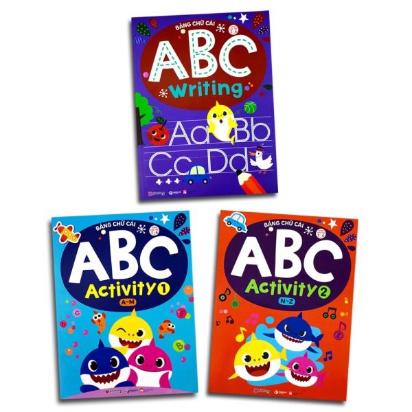 Mua Sách Dành Cho Trẻ 3-6 Tuổi : Bảng Chữ Cái ABC (Bộ 3 quyển)