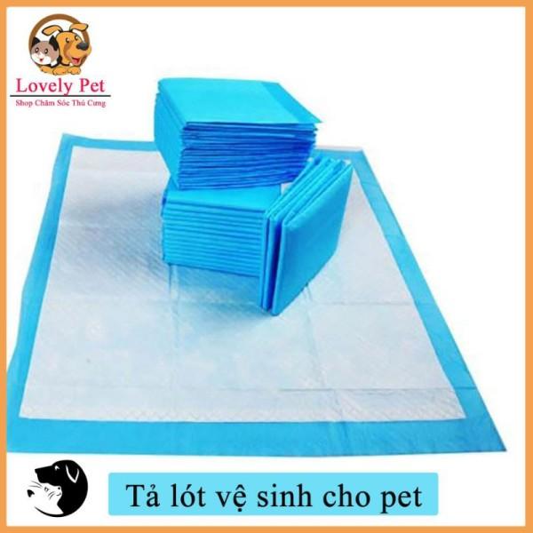 [HCM]tã lót khay vệ sinh lồng chuồng sàn xe cho chó mèo