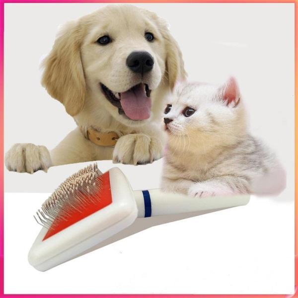 【Có hàng sẵn】Lược chải lông gỡ rối cho thú cưng Lược chải lông, lấy lông rụng cho chó mèo - Phụ kiện thú cưng
