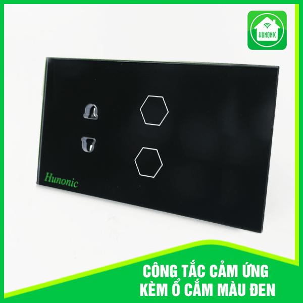 Công tắc thông minh kết nối wifi kèm ổ cắm , công tắc cảm ứng Huonic, bảo hành 1 đổi 1 trong 12 tháng , hotline hỗ trợ 0905323378.