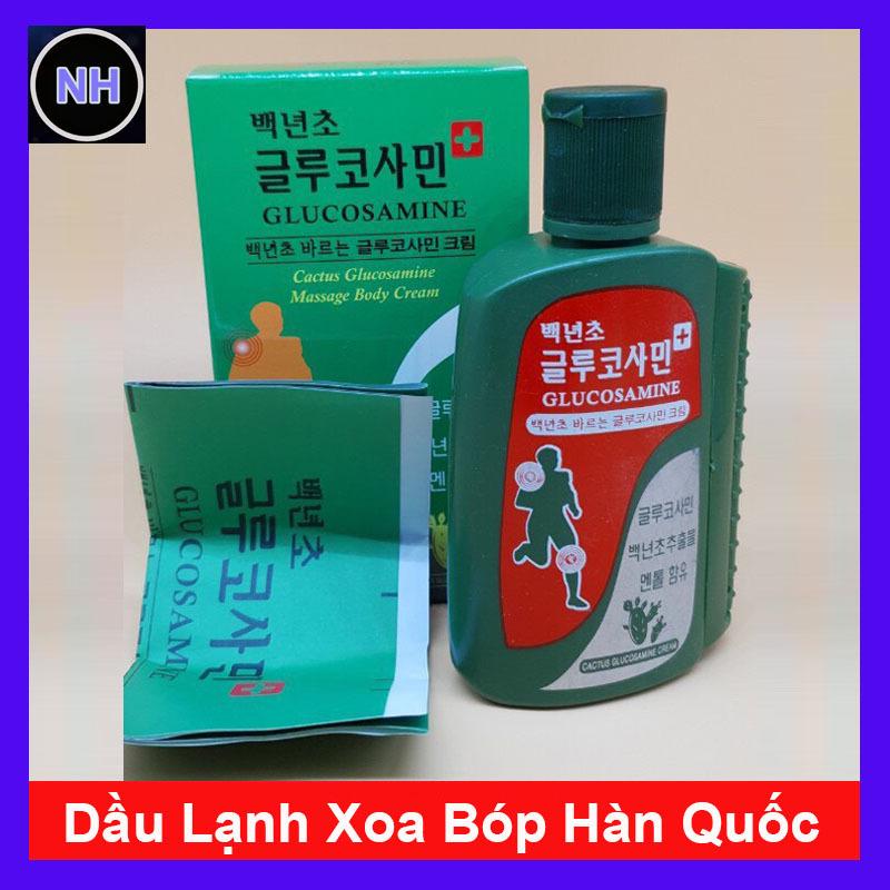 Dầu Lạnh Xoa Bóp Hàn Quốc Glucosamine nhập khẩu