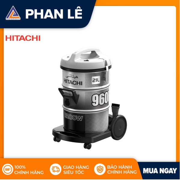 [Trả góp 0%]Máy hút bụi Hitachi CV-960F