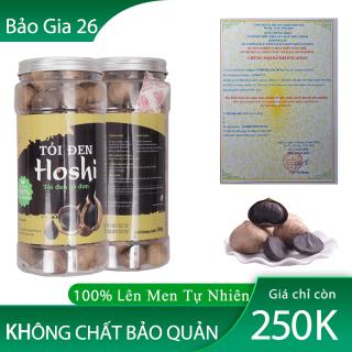 [500g] Tỏi Đen Cô Đơn Hoshi - Hộp Vip Sang Trọng, Để Sử Dụng Và Làm Quà Biếu thumbnail