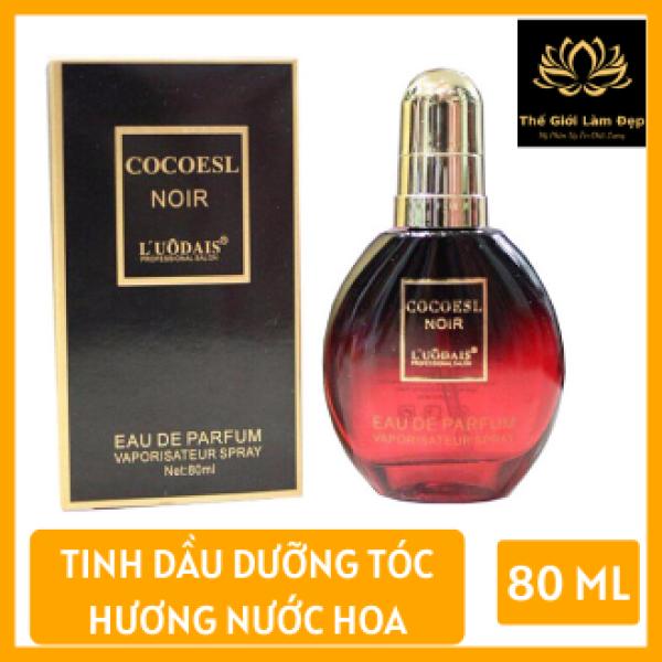 Tinh dầu dưỡng tóc Cocoesl Noir 80ml, Tinh dầu dưỡng tóc - Phục hồi tóc hư tổn do nhuộm, uốn hóa chất, Tinh dầu dưỡng tóc Cocoesl Noir