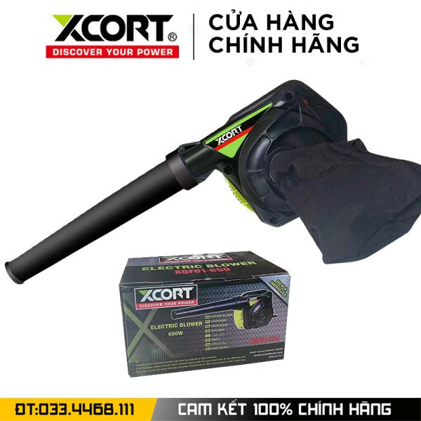 Máy hút thổi bụi 2 chức năng XCORT - Máy thổi bụi cực khỏe công suất lớn 650W