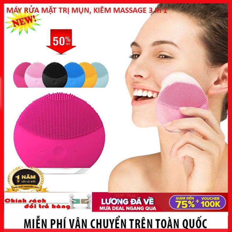 Máy Massage Mặt - Rửa Mặt Foreod-Luna Mini 2 - Hỗ Trợ Làm Sạch Da , Giúp Bạn Có 1 Làn Da Mịn Màng Khỏe Đẹp Tự Nhiên , Giúp Bạn Luôn Tự Tin Tỏa Sáng Bảo Hành 12 Tháng Toàn Quốc