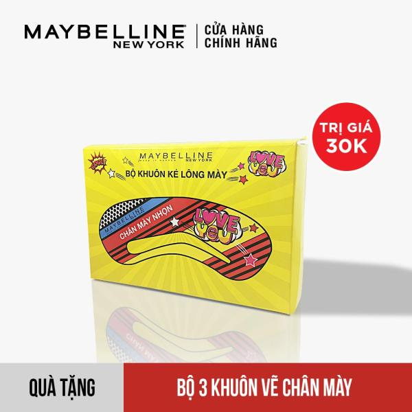 [Quà Tặng Không Bán] Bộ 3 khuôn vẽ chân mày Maybelline