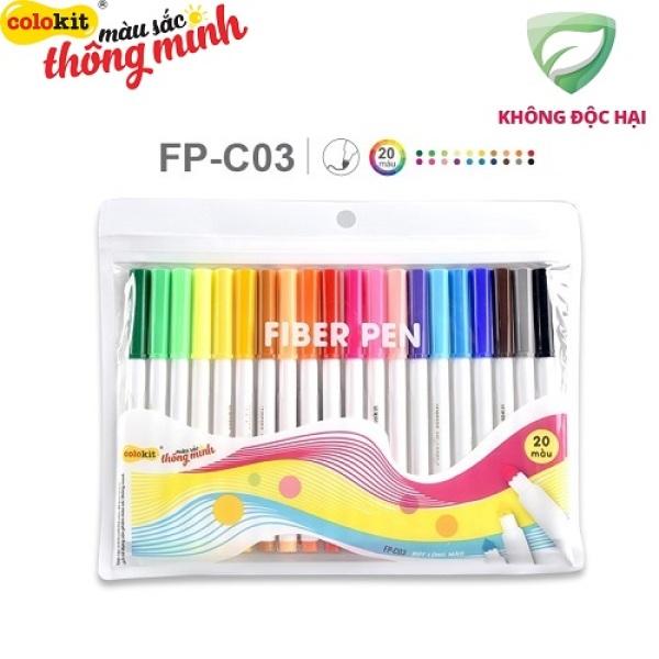 Mua Bút lông màu Fiber Pen Colokit FP-C03, sản phẩm chất lượng cao và được kiểm tra chất lượng trước khi giao hàng