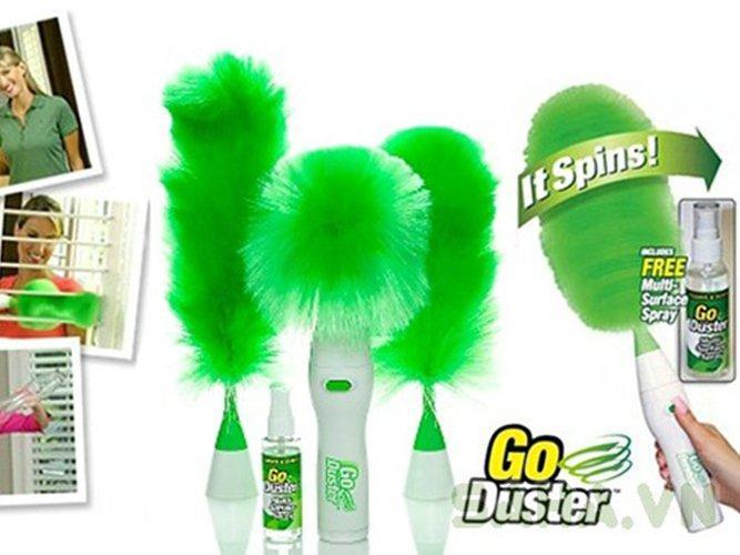 Chổi điện Đa năng Go Duster 5 in 1( xanh lá)