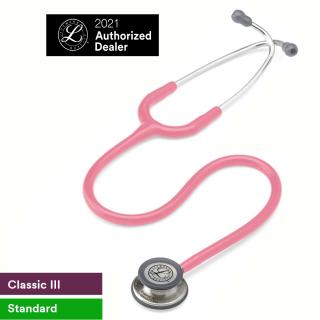 Ống nghe 3M Littmann Classic III, màu hồng ngọc trai, 27 inch, 5633 thumbnail