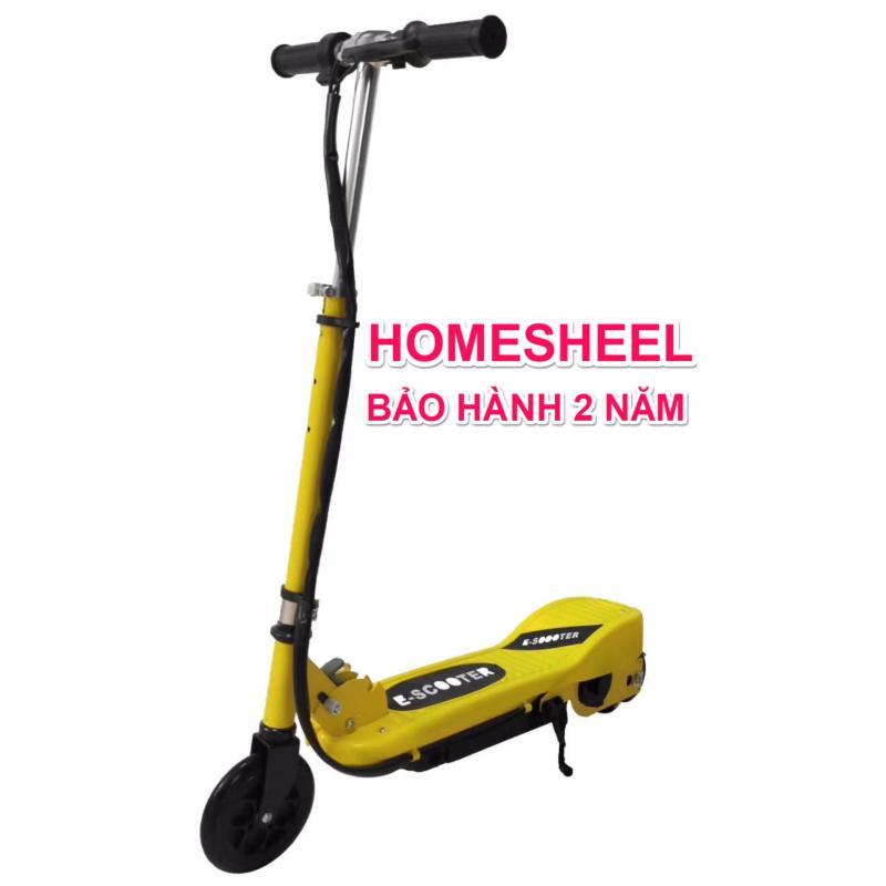 Phân phối Xe điện scooter homesheel b2 mẫu mới - vàng