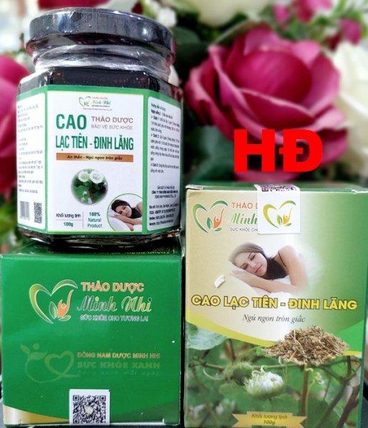 Cao Lạc Tiên – Đinh Lăng – Ngủ Ngon Tròn Giấc (Lọ 100g) nhập khẩu