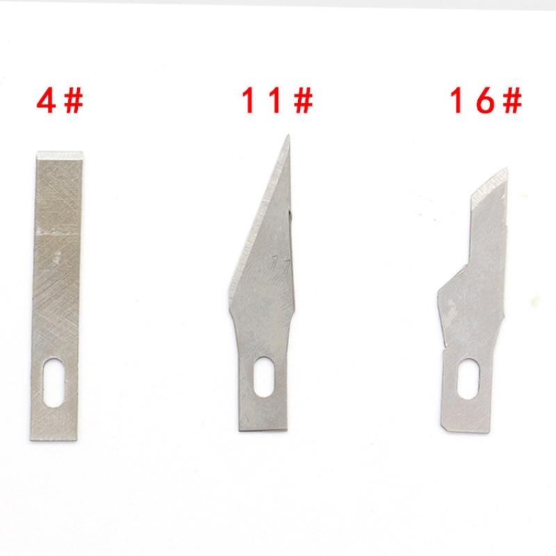 Hộp 8 lưỡi dao trổ, dao điêu khắc
