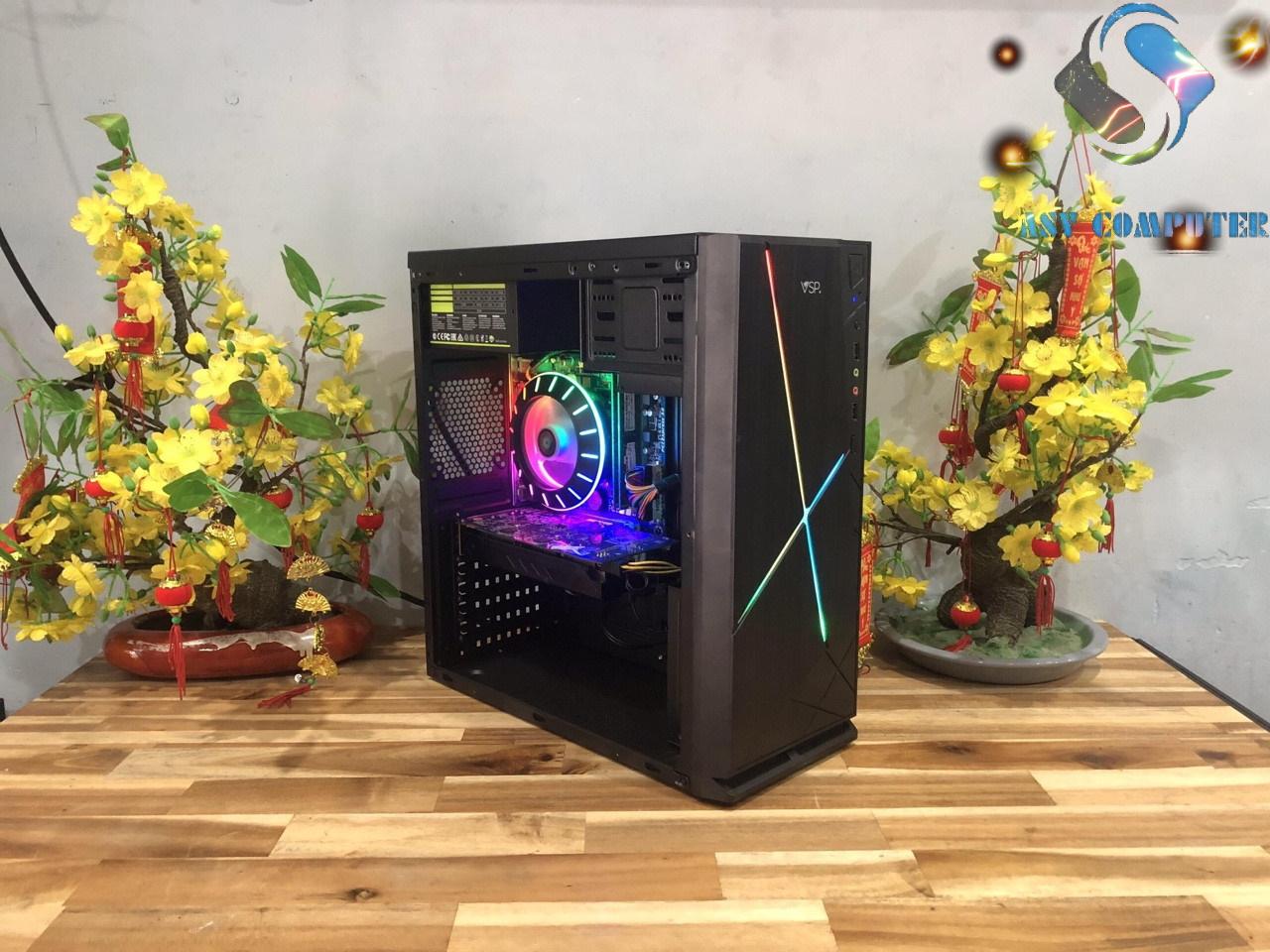 Voucher Khuyến Mãi Máy Tính Chơi Game AMD X4 760K, Ram 8GB, Card R7 240, Case Như Hình