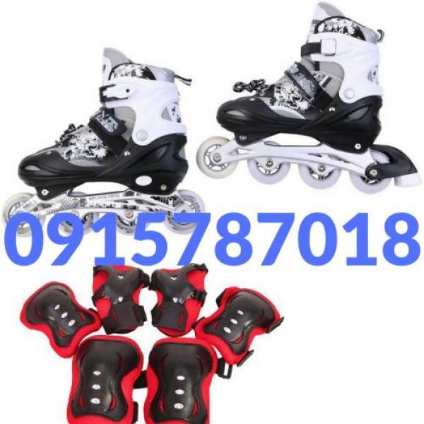 Giá bán Giày trượt patin cao cấp Longfeng 906 tặng kèm bộ bảo vệ chân tay cao cấp