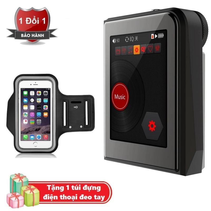 Máy nghe nhạc MP3 Lossless cao cấp Ruizu A50 - Hifi Music Player Ruizu A50 Tặng kèm Túi đựng điện thoại chống nước đeo cánh tay