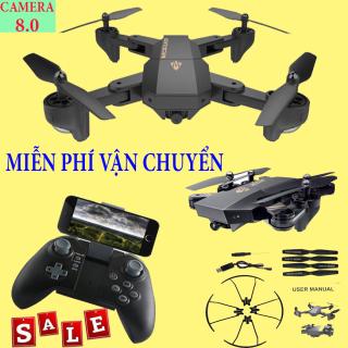 Flycam 4K - Flycam giá rẻ - Máy Bay Flycam Visua, Hình Ảnh Rõ Nét, Lộn Nhào 360 Độ, Camera Full HD 720P.Uy Tín. thumbnail