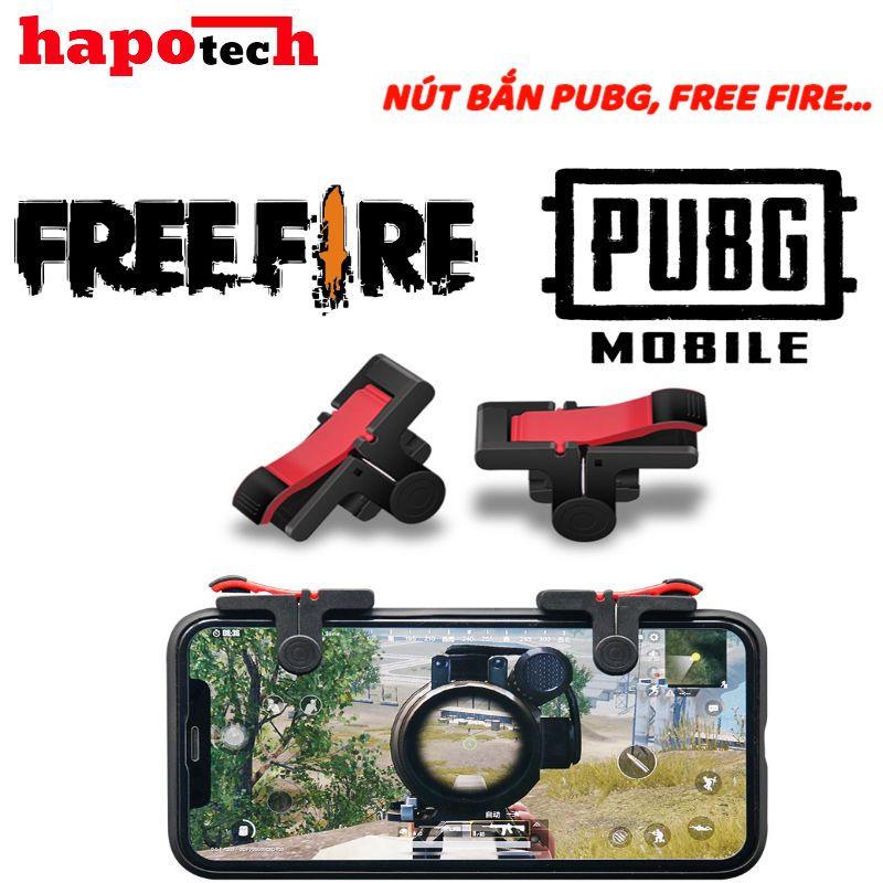 Nút bắn pubg,nút bắn freefire cao cấp hapotech,nút bắn nhỏ gọn, bấm nhạy tương thích mọi thiết bị, món phụ kiện chơi game của game thủ