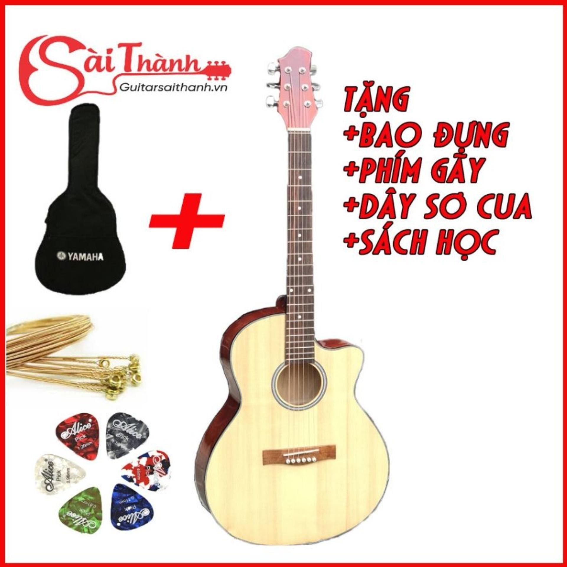 đàn guitar acoustic GVA23 cho người mới tập chơi Nhật Bản