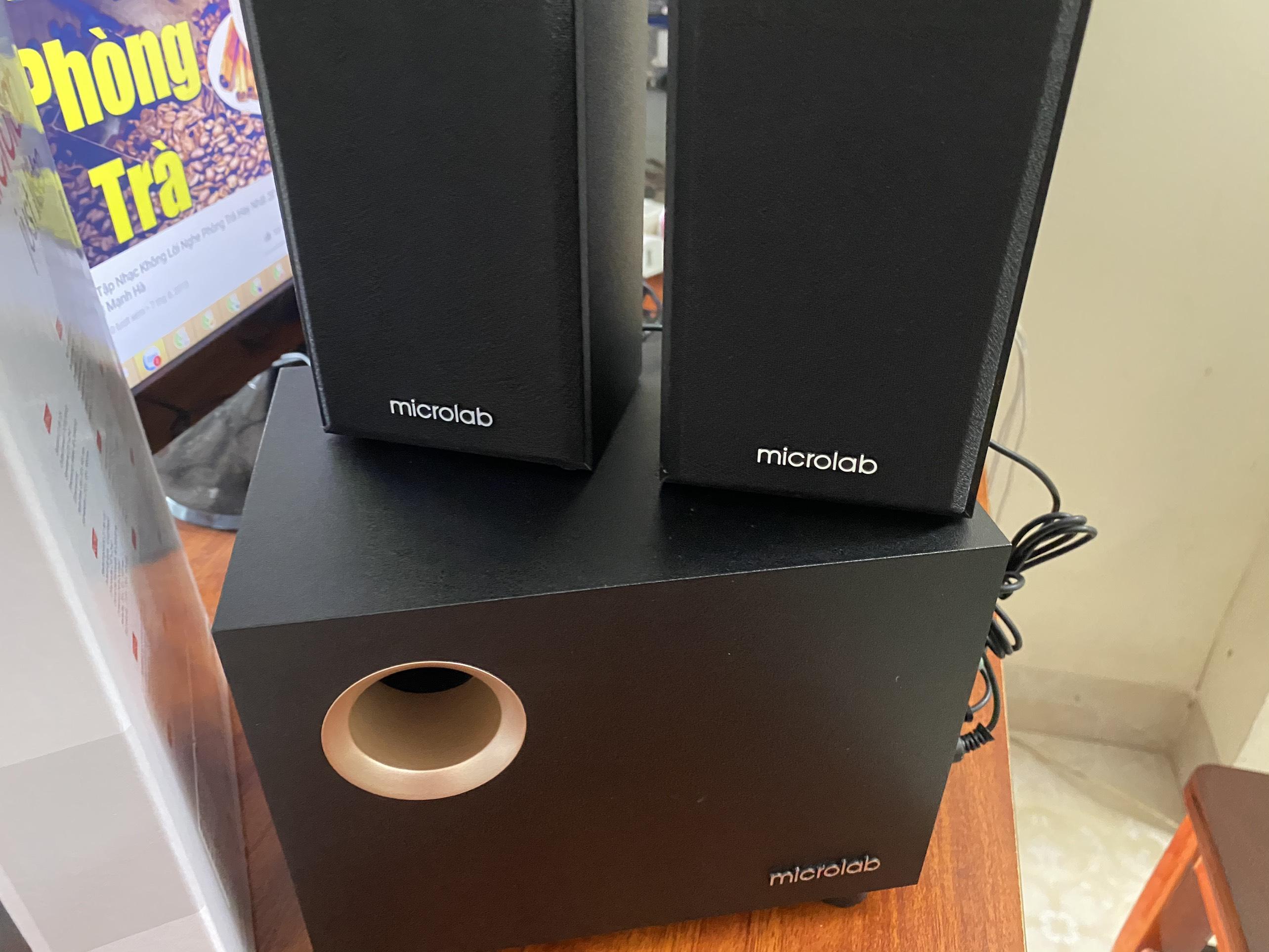 Loa Microlab M105 - Hàng Chính Hãng ( rẻ vô địch )
