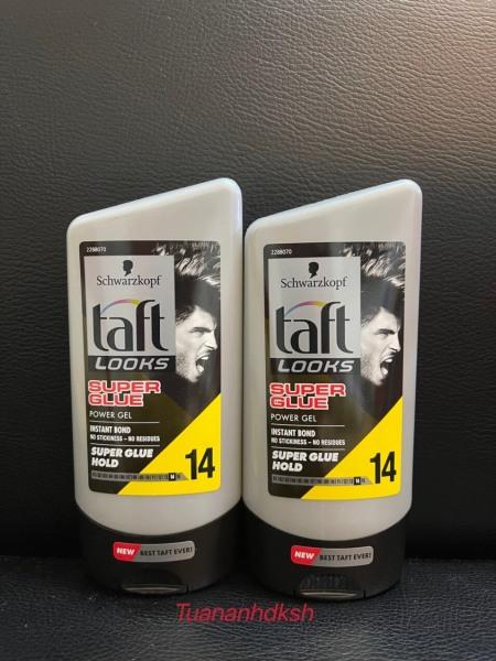 [XẢ DATE] Gel vuốt tóc Taft Looks super glue Schwarzkopf 150ml Slovenia - Chính hãng DKSH