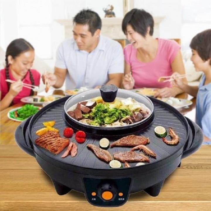 Giá Tiết Kiệm Khi Sở Hữu Bếp Lẩu Nướng điện 2 Trong 1 đa Năng OSAKA