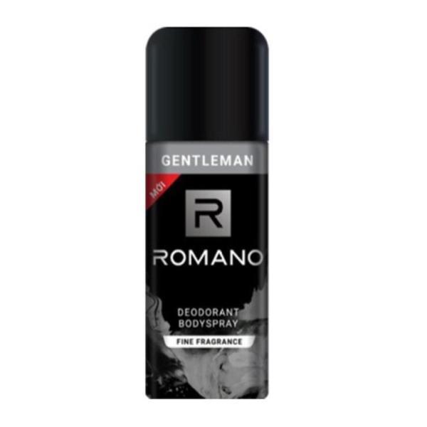 Romano - Xịt ngăn mùi toàn thân hương nước hoa Gentleman 150 ml