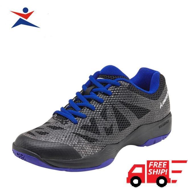 Giày bóng chuyền, giày cầu lông chuyên dụng Kawasaki K357 màu đen cao cấp, siêu bền, siêu mềm , đa dạng kiểu dáng dành cho nam giá rẻ