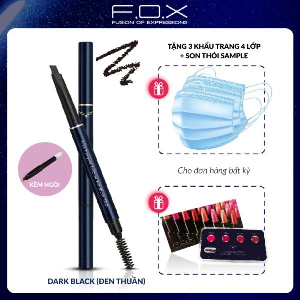[TAIWAN COSMETICS] Chì Kẻ Mày Đầu Tam Giác FOX ( Kèm ngòi ) Triangular Eyebrow With Mascara Brush 0.25g tốt nhất