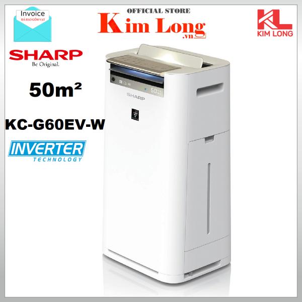 Bảng giá SHARP KC-G60EV-W Máy lọc không khí tạo ẩm - Hàng chính hãng