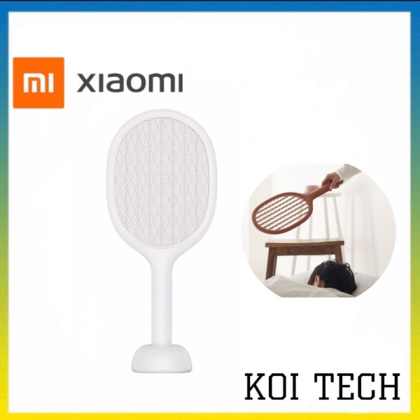 Vợt bắt muỗi chạy điện Xiaomi Mosquito Swatter - thiết bị diệt côn trùng trong nhà - KOI TECH