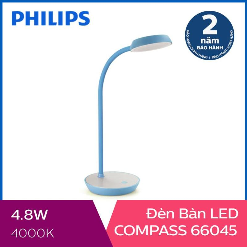 Đèn bàn Philips LED Compass 66045 4.8W