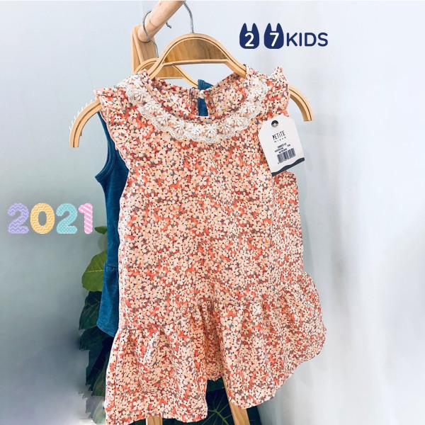 Giá bán Váy bé gái 27Kids Petite Mieux – đầm nữ mùa hè từ cho trẻ 2-8 Tuổi D3A02