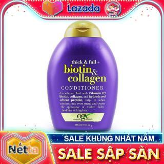 Dầu xả Biotin & Collagen 385ml OGX Beauty - USA làm dày tóc, ngăn rụng tóc, kích thích mọc tóc, phục hồi tóc thumbnail