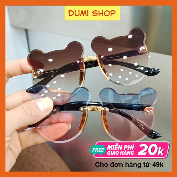 Giá bán [HCM]Kính Mát Hình Gấu Dễ Thương Cho Bé – Dumi Shop