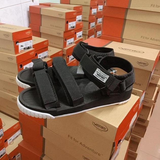 Giày sandal nam đế cao 2,5cm siêu nhẹ mẫu mới 2019 NV9801 Xăng đan nam giá rẻ